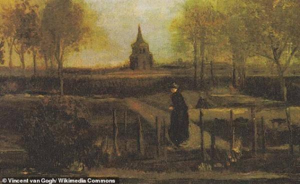 3月30日,梵高167岁生日当天,他的画作《春天花园》被盗!